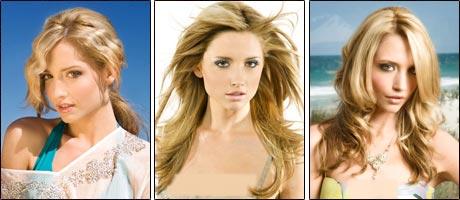 مدل موی دخترانه ۲۰۱۰ با رنگ موی طبیعی